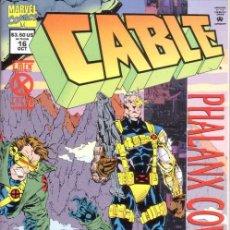 Cómics: CABLE VOL.1 # 16 (MARVEL,1994) - X-MEN. Lote 30229510