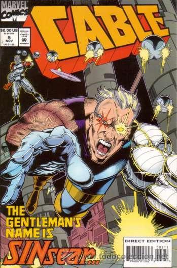 CABLE VOL.1 # 5 (MARVEL,1993) - X-MEN (Tebeos y Comics - Comics Lengua Extranjera - Comics USA)