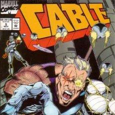 Cómics: CABLE VOL.1 # 5 (MARVEL,1993) - X-MEN. Lote 30229968
