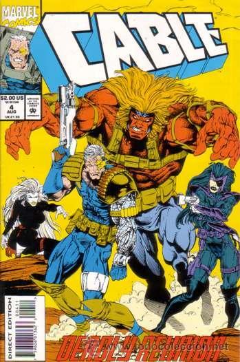CABLE VOL.1 # 4 (MARVEL,1993) - X-MEN (Tebeos y Comics - Comics Lengua Extranjera - Comics USA)