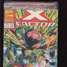 Cómics: X FACTOR , ANNUAL 1993 , PRECINTADO DE ORIGEN , LLEVA TRADING CARD ( EDICION AMERICANA ). Lote 30329225