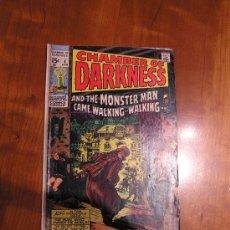 Cómics: MARVEL COMICS CHAMBER OF DARKNESS NÚM. 4 (JACK KIRBY 1970) GRADO VG/FN. Lote 30351277