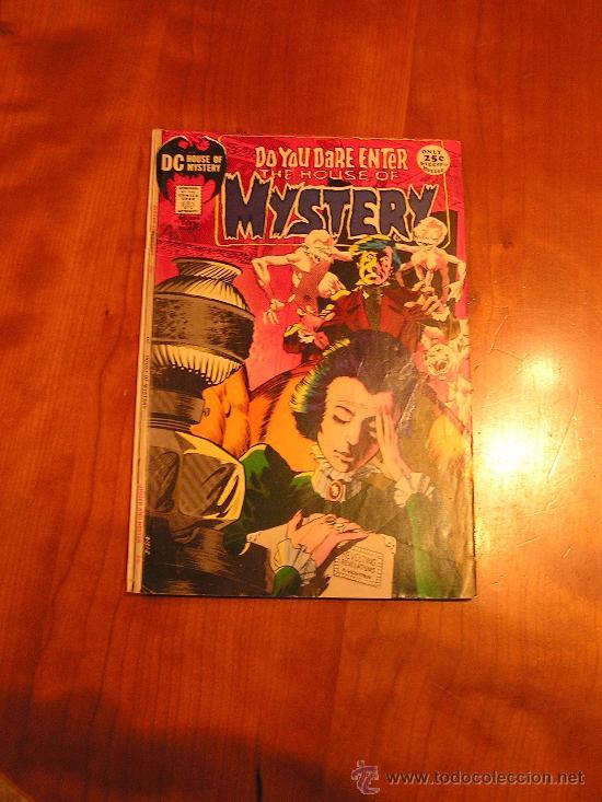 DC COMICS HOUSE OF MYSTERY NÚM. 194 (JACK KIRBY 1971) GRADO VG/FN (Tebeos y Comics - Comics Lengua Extranjera - Comics USA)