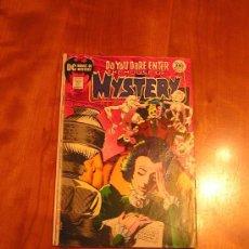 Cómics: DC COMICS HOUSE OF MYSTERY NÚM. 194 (JACK KIRBY 1971) GRADO VG/FN. Lote 30351550