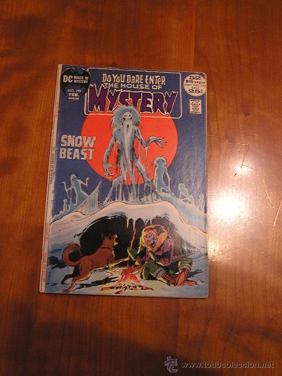 DC COMICS HOUSE OF MYSTERY NÚM. 199 (JACK KIRBY 1971) GRADO VG (Tebeos y Comics - Comics Lengua Extranjera - Comics USA)