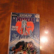 Cómics: DC COMICS HOUSE OF MYSTERY NÚM. 199 (JACK KIRBY 1971) GRADO VG. Lote 30351575