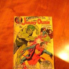 Cómics: DC COMICS SUPERMAN JIMMY OLSEN NÚM. 136 (JACK KIRBY 1971) GRADO VG. Lote 30352496