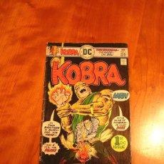 Cómics: DC COMICS KOBRA NÚM. 1 (JACK KIRBY 1976) GRADO FN. Lote 30352594