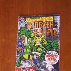 Cómics: DC COMICS: THE FOREVER PEOPLE NÚM. 2 ( JACK KIRBY 1971). GRADO: VG. Lote 30455493