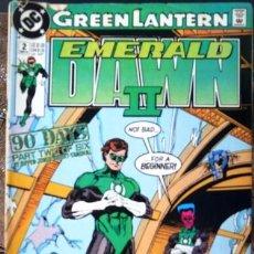 Cómics: GREEN LANTERN # 2 EMERALD DAWN II AÑO 1991 DC COMICS BY GIFFEN & JONES 32 PAG INGLES BUEN ESTADO. Lote 289020818