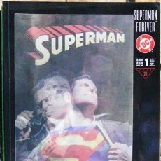 Cómics: SUPERMAN FOREVER # 1 - PRESTIGE - ALEX ROSS - HOLOGRAPHIC COVER - 1998 - DC - 96 PAG - INGLES. Lote 180512022