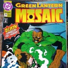 Cómics: GREEN LANTERN MOSAIC # 15 - 1993 - DC COMICS - DEATH UNDER THE HOOD - 32 PAG - INGLES. Lote 31372846