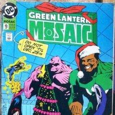 Cómics: GREEN LANTERN MOSAIC # 10 IN TURMOIL ! 1993 DC COMICS BY JONES & HAMNER 32 PAG INGLES BUEN ESTADO. Lote 31385464