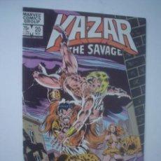 Cómics: KA-ZAR THE SAVAGE # 20. Lote 31786724