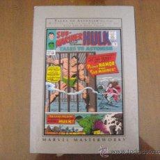 Cómics: MARVEL MASTERWORKS: NAMOR THE SUBMARINER VOL 1. Lote 32014452