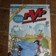 Cómics: PVP. PLAYER VS PLAYER. Nº 0. IMAGE COMICS GROUP. EN INGLES.. Lote 32082430