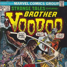 Fumetti: COMIC STRANGE TALES BROTHER VOODOO Nº 171 . Lote 32235064