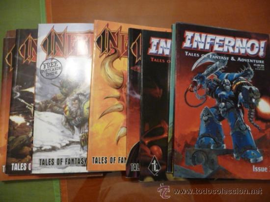 INFERNO. TALES OF FANTASY & ADVENTURE. LOTE DE 14 NÚMEROS (Tebeos y Comics - Comics Lengua Extranjera - Comics USA)