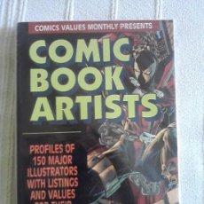 Cómics: COMIC BOOK ARTISTS. Lote 32634730