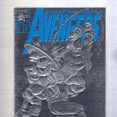 Cómics: LOTE DE 6 COMICS MARVEL USA 4 DE ELLOS CON PORTADAS EN RELIEVE,BRILLANTE Y HOLOGRÁFICA (VER DETALLE. Lote 32710369
