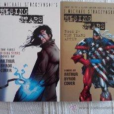 Cómics: RISING STARS 1 Y 2 POR ARTHUR BYRON COVER, NOVELAS EN INGLES. Lote 32921835
