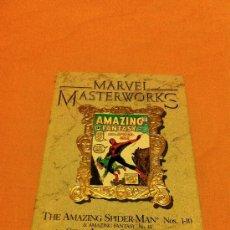 Cómics: MARVEL MASTERWORKS AMAZING SPIDER-MAN VOLUME 1 AMAZING FANTASY #15, AMAZING SPIDER-MAN #1-10 VARIANT. Lote 32946015