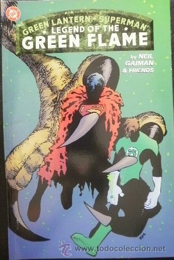 GREEN LANTERN / SUPERMAN: LEGEND OF THE GREEN FLAME PUBLISHED BY DC COMICS - ORIGINAL EN INGLÉS (Tebeos y Comics - Comics Lengua Extranjera - Comics USA)