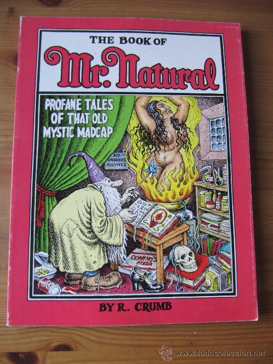 ROBERT CRUMB - THE BOOK OF MR NATURAL (Tebeos y Comics - Comics Lengua Extranjera - Comics USA)