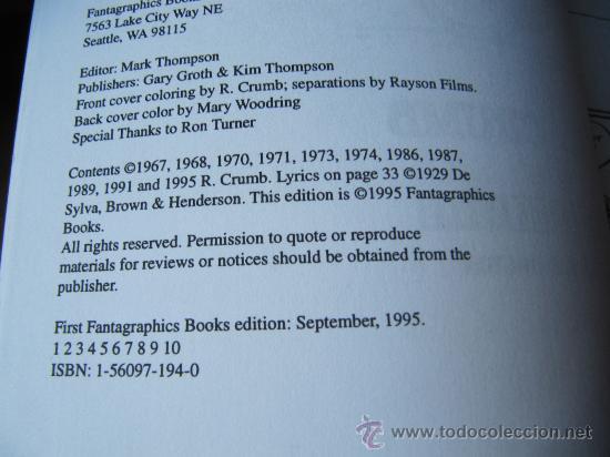 Cómics: ROBERT CRUMB - THE BOOK OF MR NATURAL - Foto 4 - 34172640