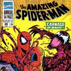 Cómics: AMAZING SPIDER-MAN ANNUAL VOL.1 # 28 (MARVEL,1994) - SPIDERMAN - CARNAGE - MATANZA. Lote 34510291