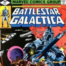 Cómics: BATTLESTAR GALACTICA VOL.1 # 6 (MARVEL,1979). Lote 34539799