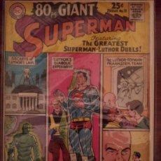 Cómics: SUPERMAN GIANT NÚM. 11 COLECCIÓN ORIGINAL AMERICANA (1965). Lote 34903039