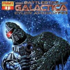 Cómics: COMPLETA - BATTLESTAR GALACTICA: CYLON APOCALYPSE # 1 AL 4 (DYNAMITE,2007). Lote 34969705