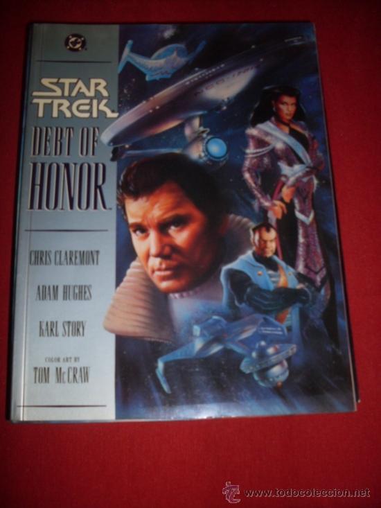 DC , STAR TREK - DERT OF HONOR (Tebeos y Comics - Comics Lengua Extranjera - Comics USA)