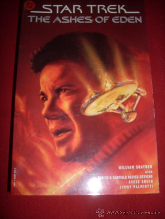 DC , STAR TREK - THE ASHES OF EDEN (Tebeos y Comics - Comics Lengua Extranjera - Comics USA)
