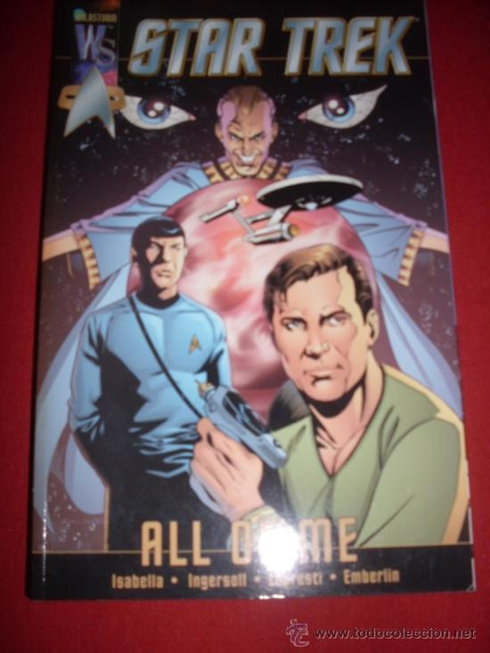 DC , STAR TREK - ALL OF ME (Tebeos y Comics - Comics Lengua Extranjera - Comics USA)