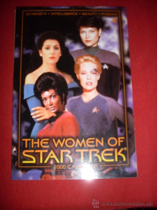 DC , STAR TREK - THE WOMEN OF STAR TREK - CALENDAR 2000 (Tebeos y Comics - Comics Lengua Extranjera - Comics USA)
