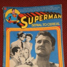 Cómics: SUPERMAN, SERIAL TO CEREAL, - 1976 - ORIGINAL AMERICANO. Lote 35575678