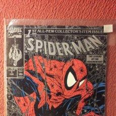 Cómics: OFERTA SPIDERMAN 1 USA DE TODD MCFARLANE, PORTADA PLATEADA. Lote 35847013