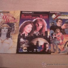 INNOVATION PACK (Executioner #1, Beauty and the Beast #1, Queen of the damned #1)