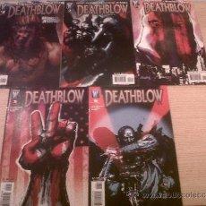 Cómics: DEATHBLOW #1, 3-6 (DC-WILDSTORM, 2006). Lote 36121255
