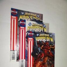 Cómics: IRON MAN HOUSE OF M - LOTE DE 1 AL 3 - MARVEL COMIC USA - EN INGLES. Lote 36166540