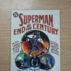 Cómics: SUPERMAN END OF THE CENTURY TP. Lote 36560242
