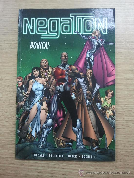 NEGATION BOHICA TP (Tebeos y Comics - Comics Lengua Extranjera - Comics USA)