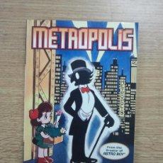 Cómics: METROPOLIS TP. Lote 36579599