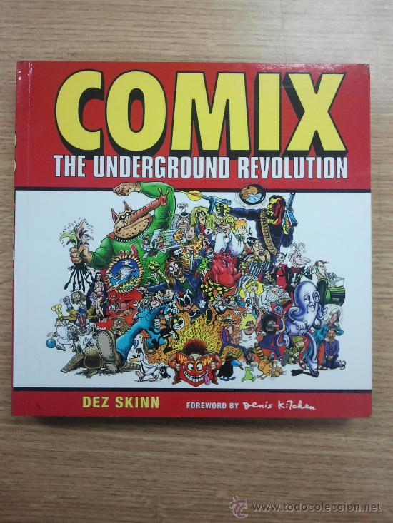 COMIX THE UNDERGROUND REVOLUTION (Tebeos y Comics - Comics Lengua Extranjera - Comics USA)