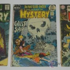 Cómics: 3 COMICS DO YOU DARE ENTER THE HOUSE OF MYSTERY, N. 178, 197, 185, DE LOS AÑOS 1969, 70 Y 71 - DC - . Lote 36813091