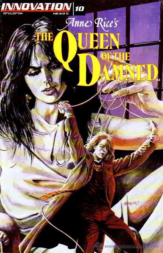 QUEEN OF THE DAMNED # 10 (INNOVATION,1993) - ANNE RICE - REINA DE LOS CONDENADOS (Tebeos y Comics - Comics Lengua Extranjera - Comics USA)