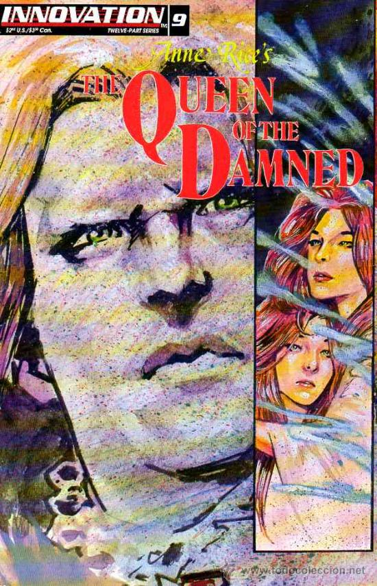 QUEEN OF THE DAMNED # 9 (INNOVATION,1993) - ANNE RICE - REINA DE LOS CONDENADOS (Tebeos y Comics - Comics Lengua Extranjera - Comics USA)