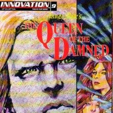 QUEEN OF THE DAMNED # 9 (Innovation,1993) - ANNE RICE - REINA DE LOS CONDENADOS